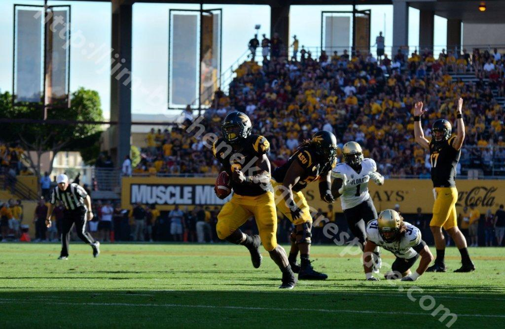 Cameron Marshall & Brock Osweiler - ASU Football 10-11