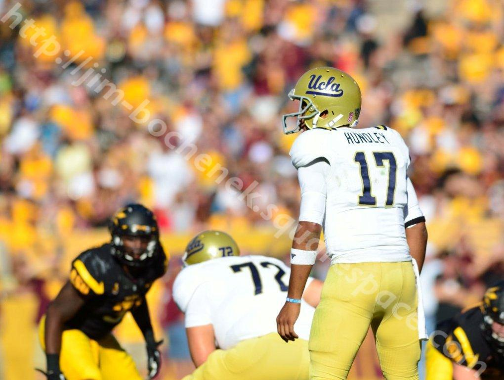 Brett Hundley - ASU (UCLA) Football 10-12