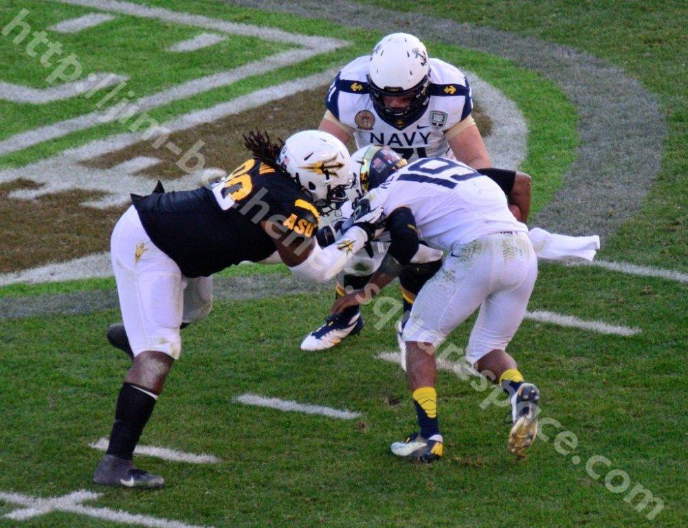 Will Sutton - ASU Bowl Game 12-12