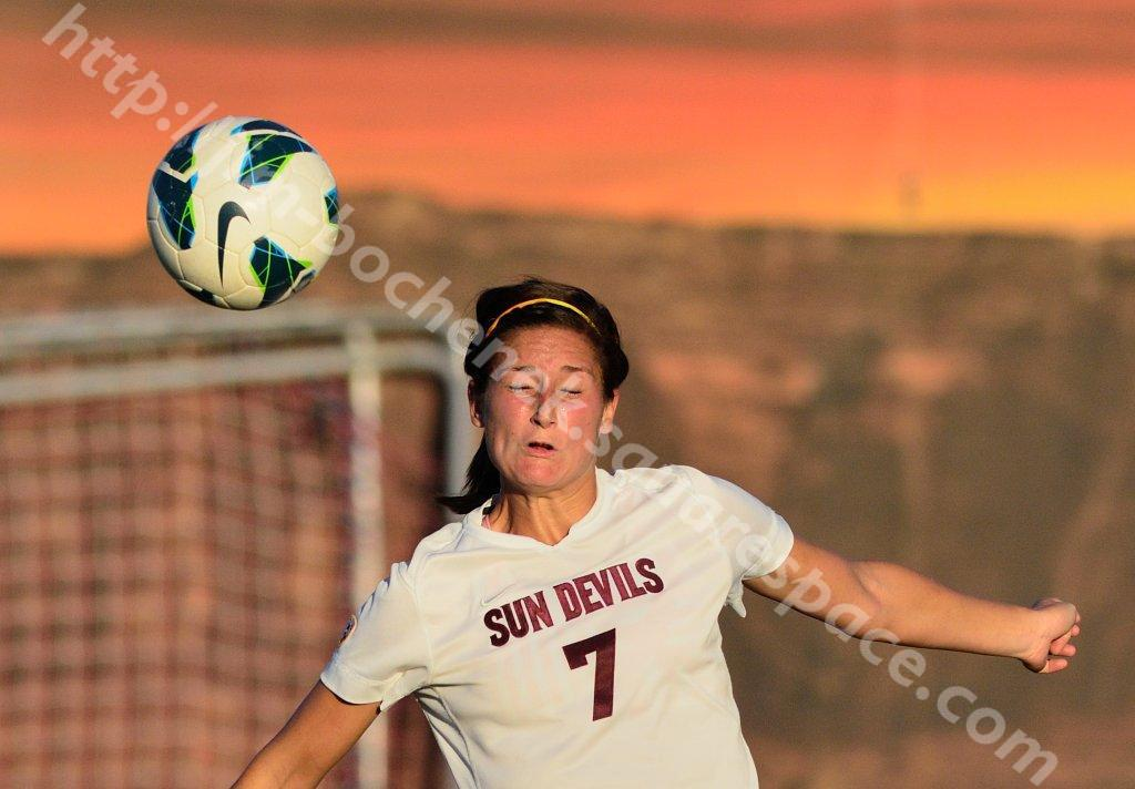 Courtney Tinnin - ASU Soccer 10-12