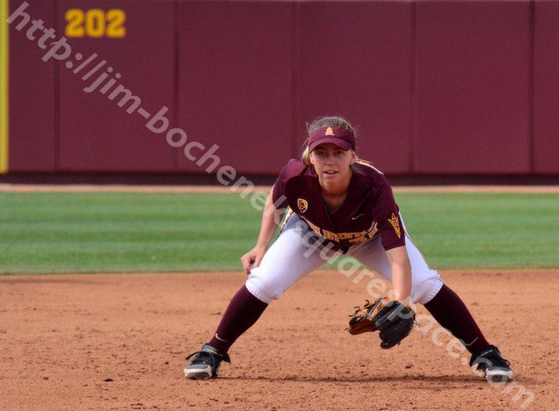Haley Steele - ASU Softball 5-26-13
