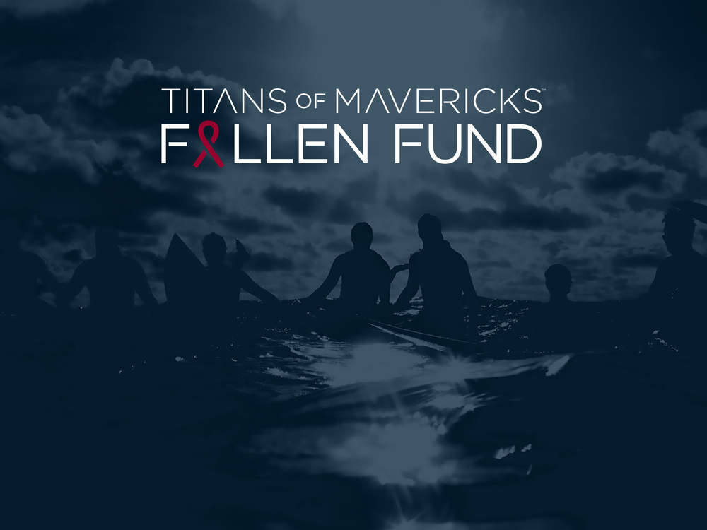 Titans of Mavericks Fallen Fund Logo and graphics
