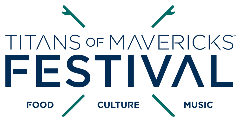 Titans of Mavericks Festival Logo
