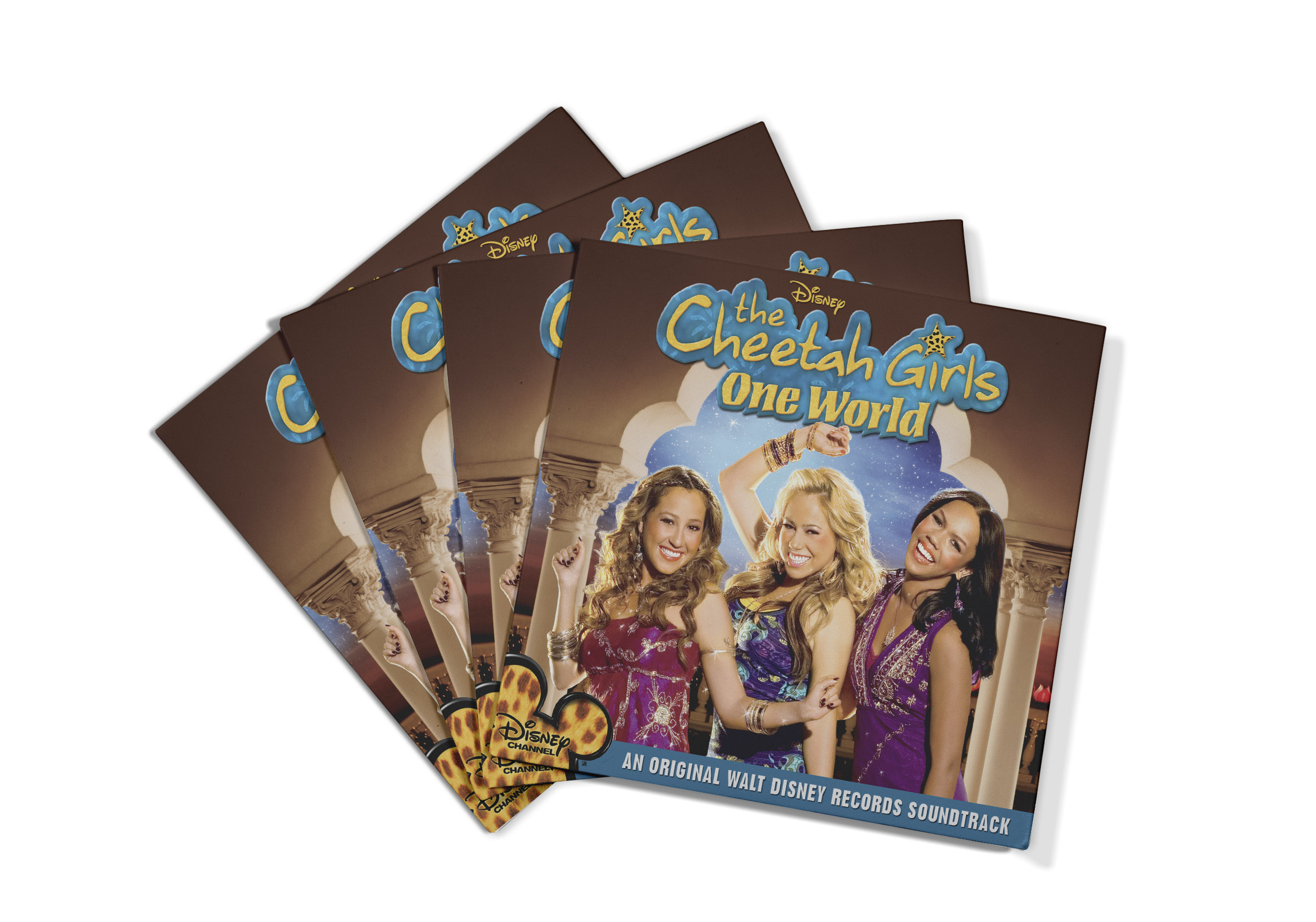 The follow-up movie to  The Cheetah Girls 2 ,  The Cheetah Girls One World  took place in India and the art created for the soundtrack was heavily influenced by the setting.