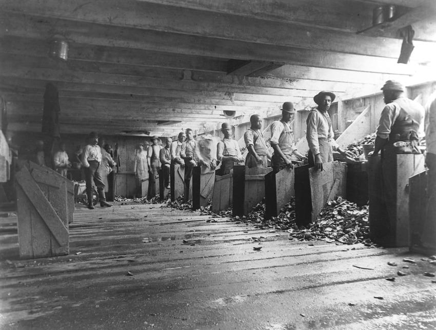 Photo courtesy of Sandy Ground Historical Society