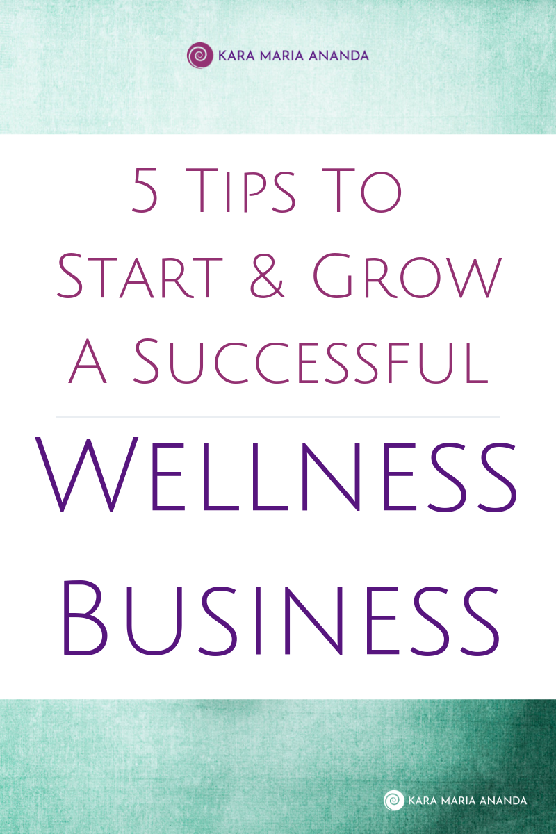 5 Tips to Start and Grow a Successful Wellness Business Online