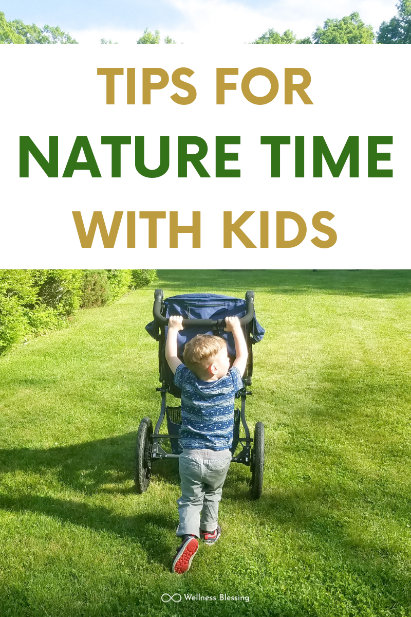 Tips for Nature Time with Kids