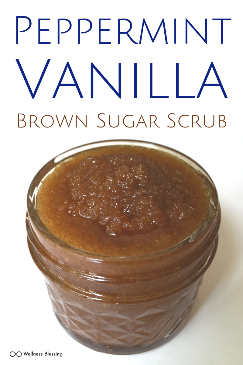 Peppermint Vanilla Brown Sugar Scrub Recipe