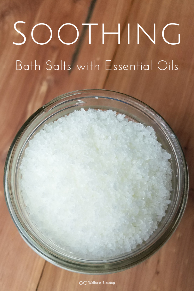 Soothing Bath Salts with Essential Oils