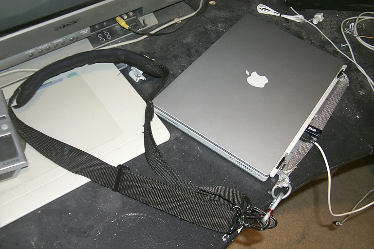 Laptop and Strap