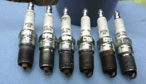 Sparkplugs 3-2-1-6-5-4