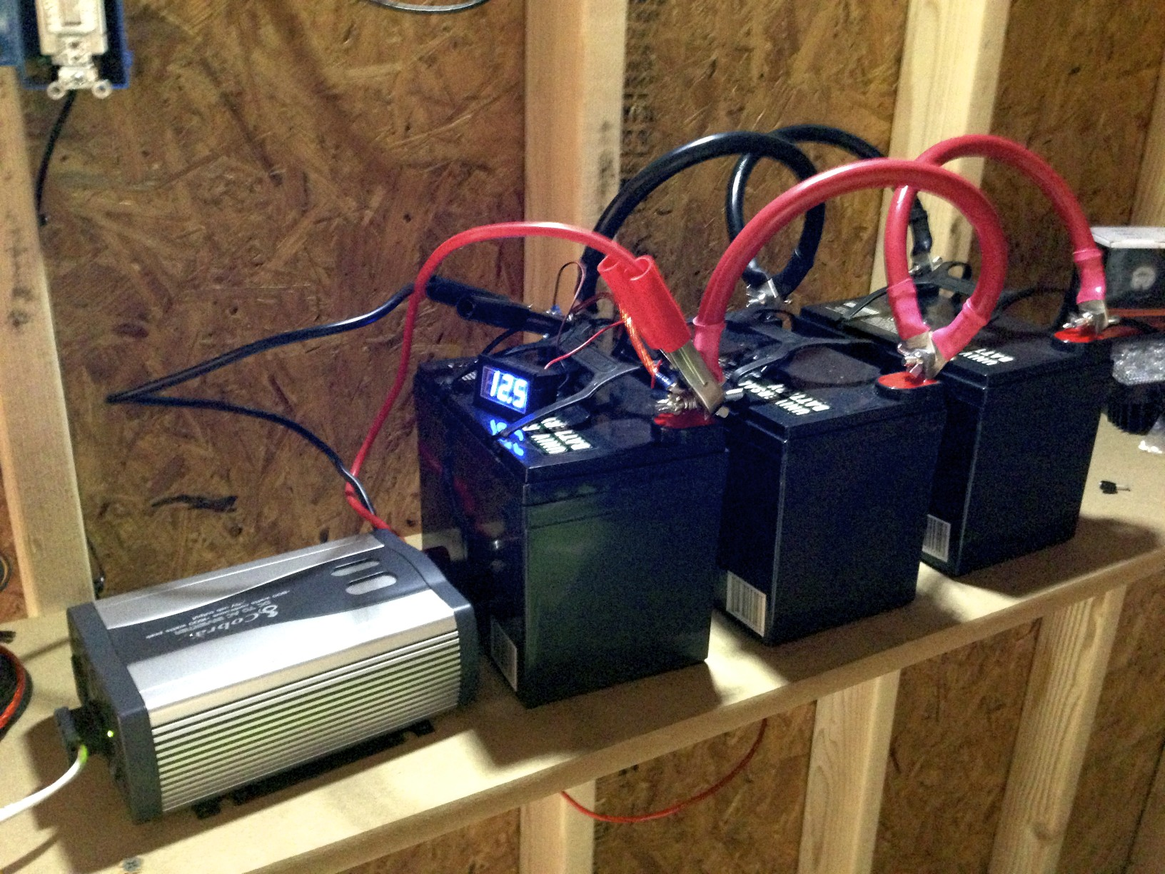 Batteries and Inverter