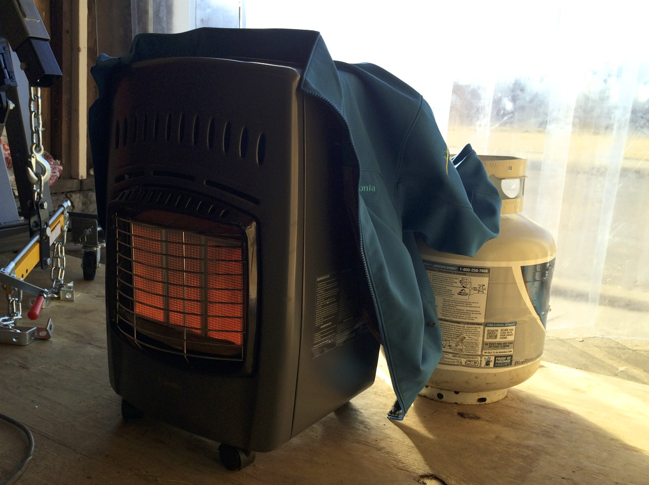 Keeping the Heater Lit