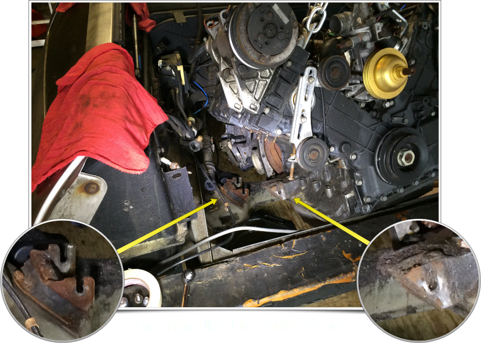 Engine and Mounts