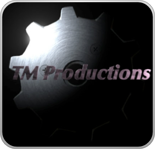 My site's old TM Productions logo, circa late 1990.