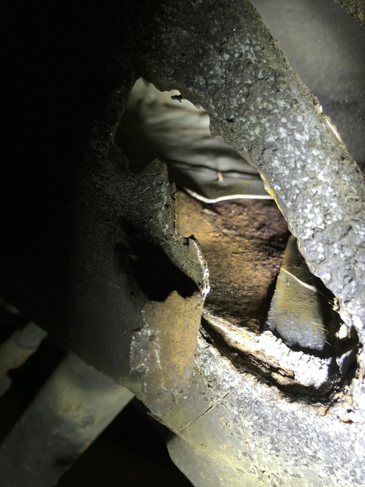 Driver's Side Hole