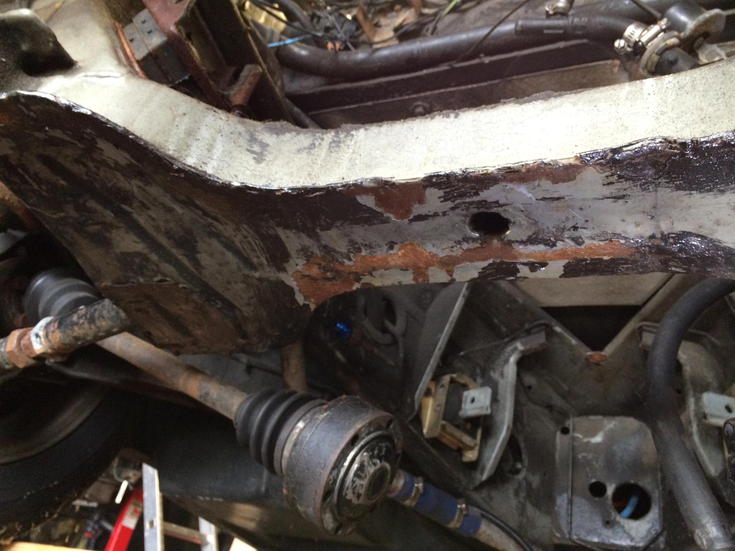 Engine Cradle Rust