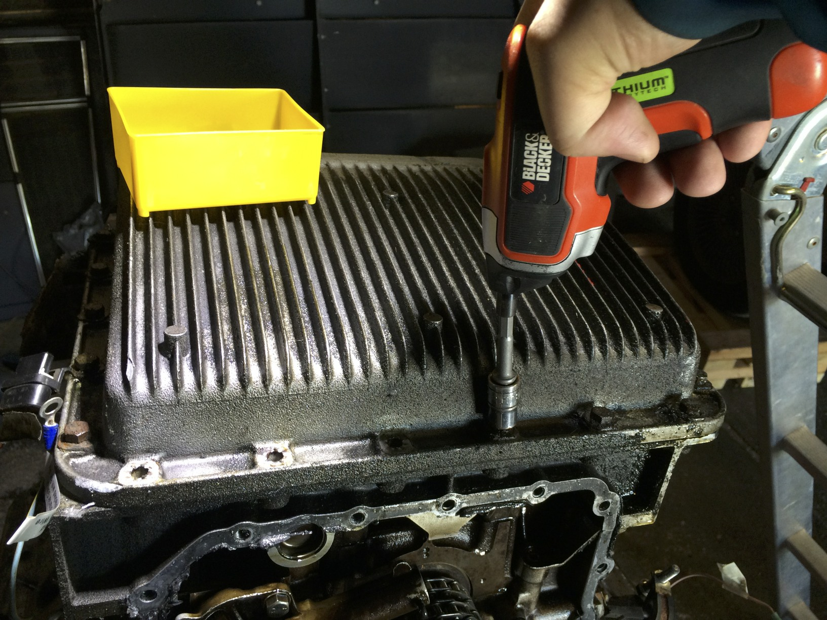 Removing the Bolts