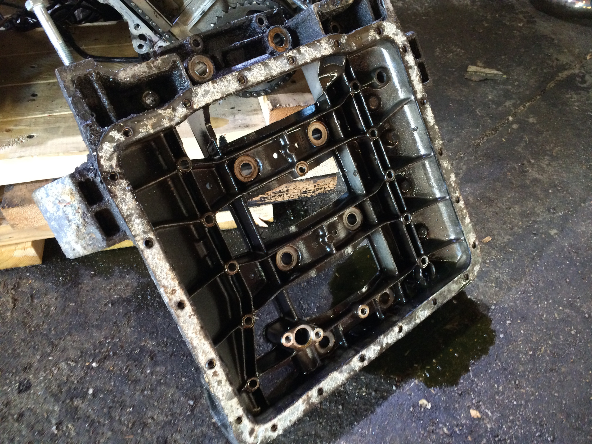 Lower Crankcase Removed