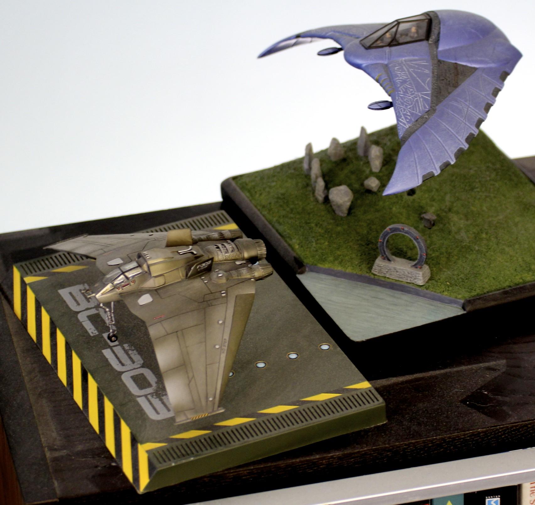 Stargate: SG-1  F-302 and Death Glider