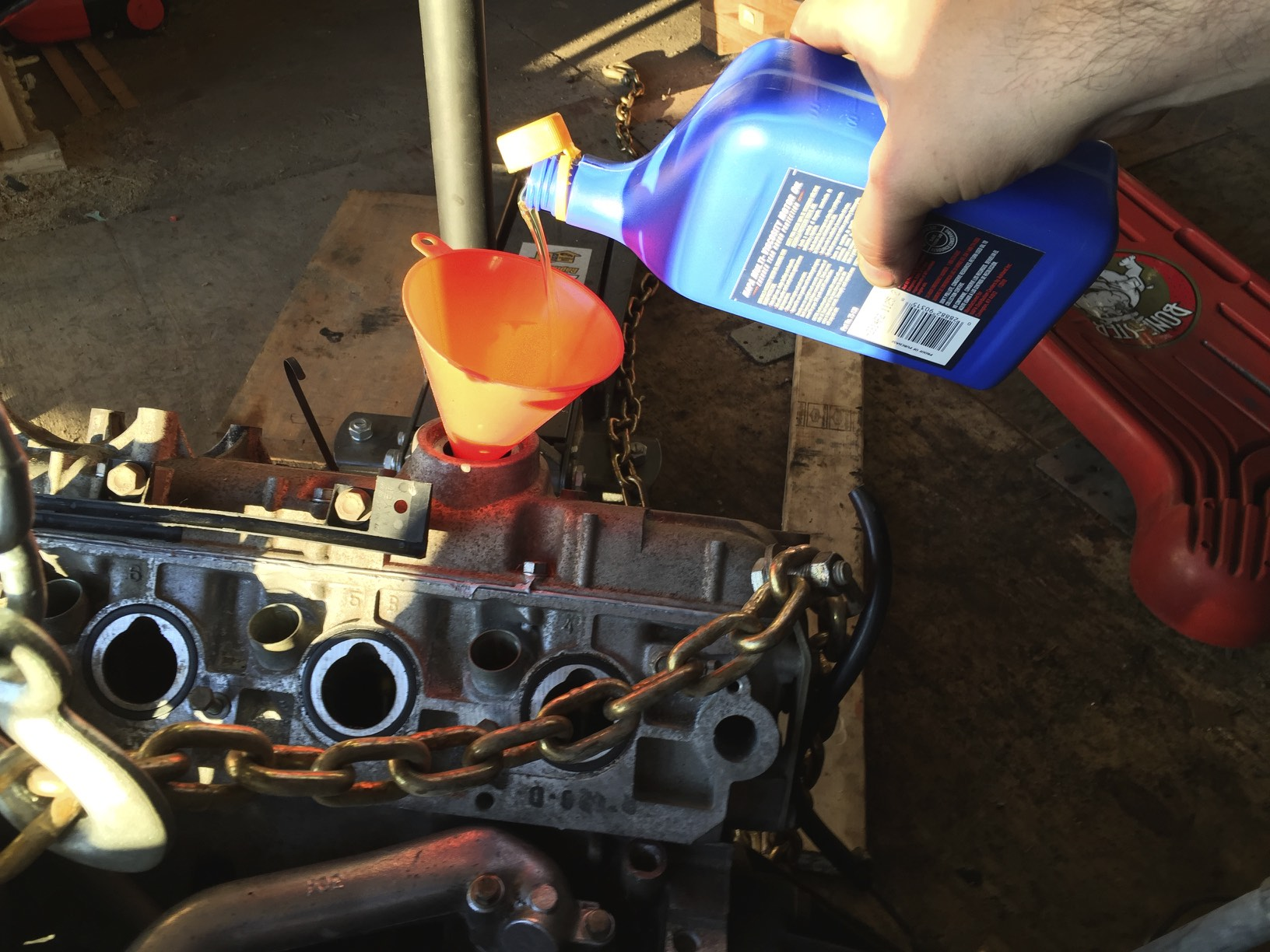 Engine Compression Test — Joe's Projects