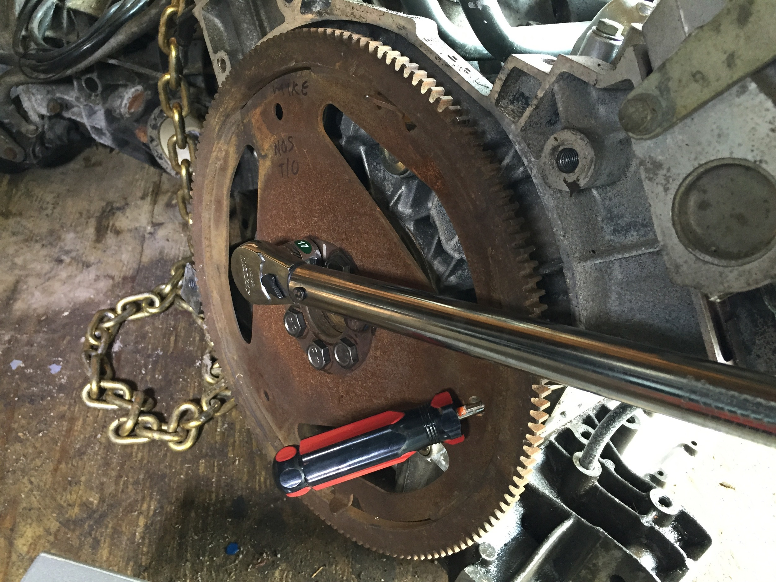 Reinstalling the Engine and Transmission — Joe's Projects