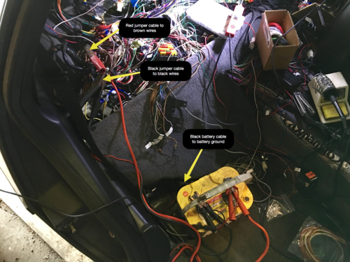 [SCHEMATICS_4NL]  Wiring, Installing the New Harness and Fuel Injector Refurbishing — Joe's  Projects | Delorean Starter Wiring Diagram |  | Joe's Projects