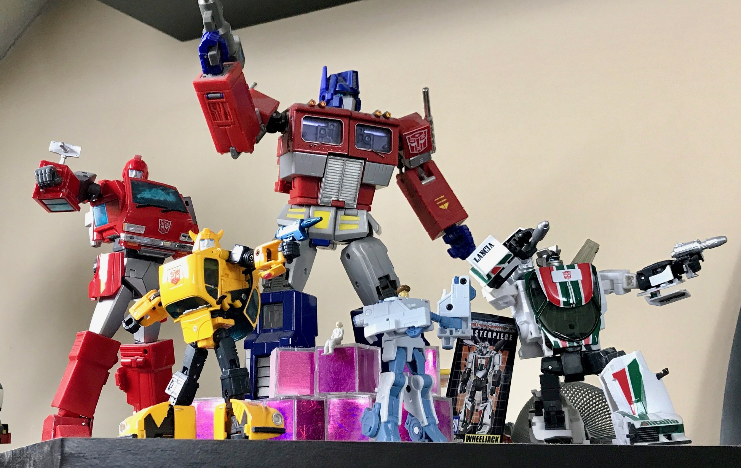 Masterpiece Autobots