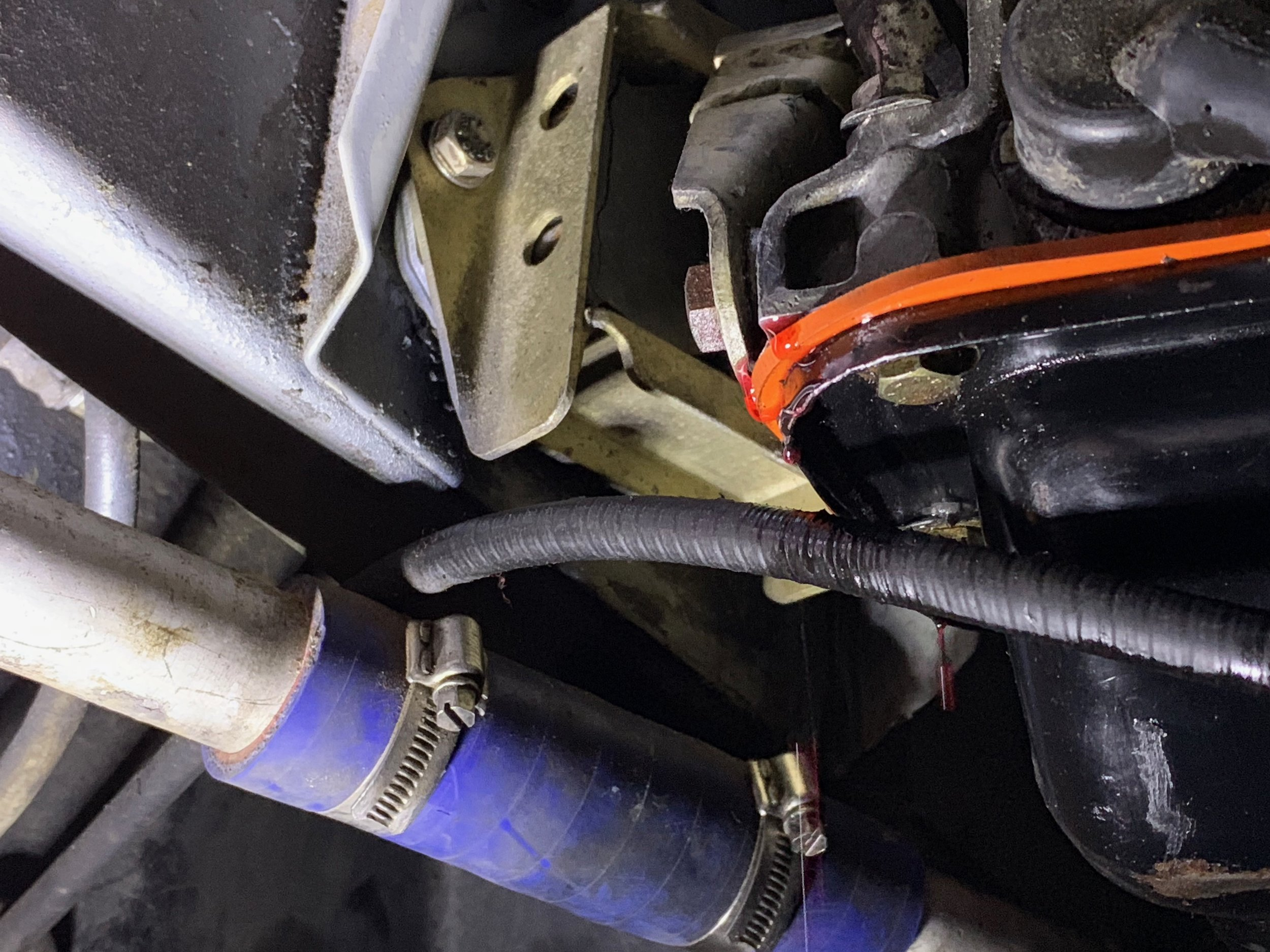 Transmission fluid pouring out from the base of the dipstick tube when just using an O-ring and RTV. An otterstat gasket worked much better.
