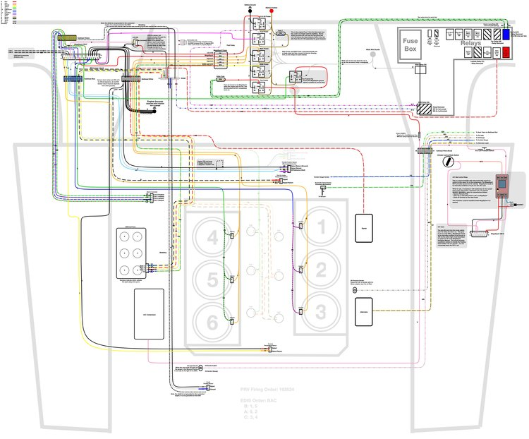 [DIAGRAM_34OR]  Wiring, Installing the New Harness and Fuel Injector Refurbishing — Joe's  Projects | Delorean Fuse Box Diagram |  | Joe's Projects