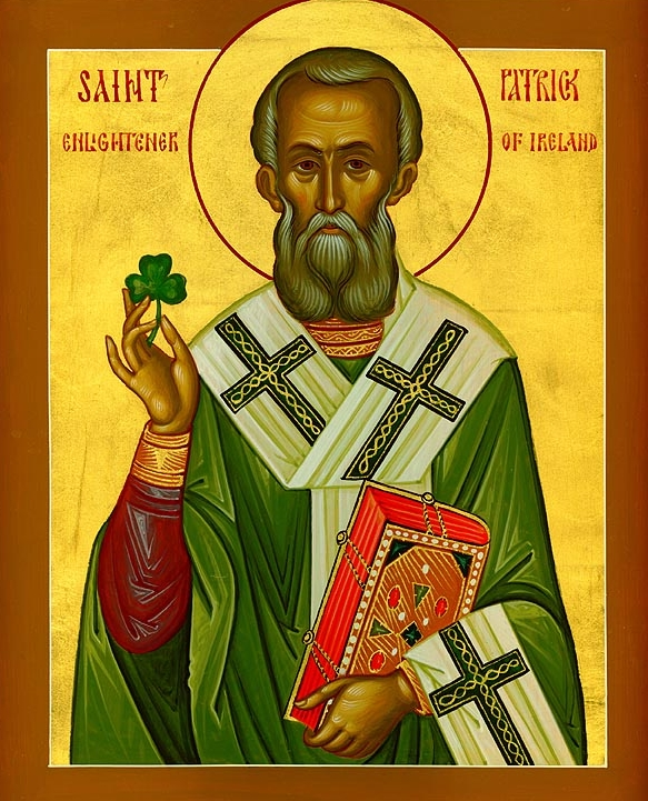 Saint Patrick, Enlightener of Ireland - Click for Sunday Bulletin
