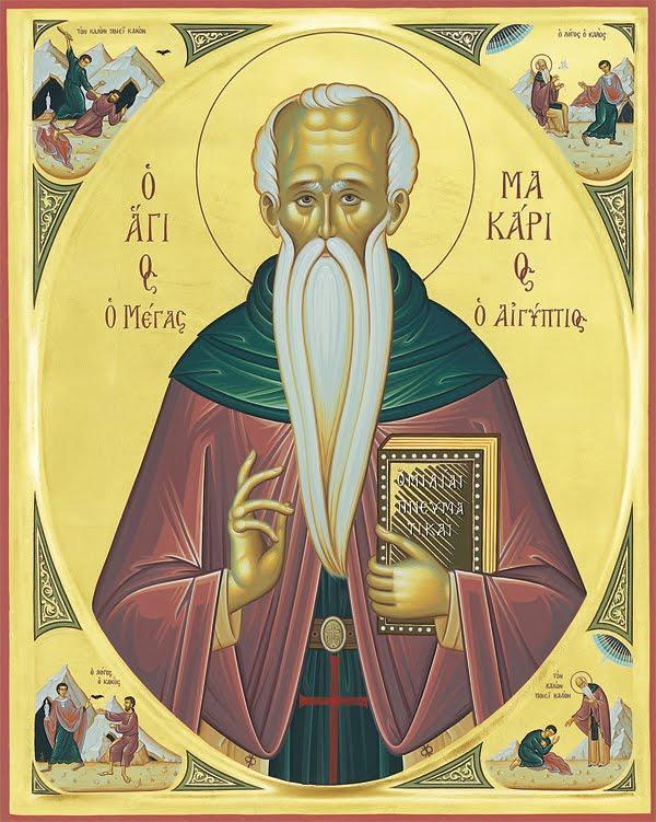 Saint Makarios the Great of Egypt