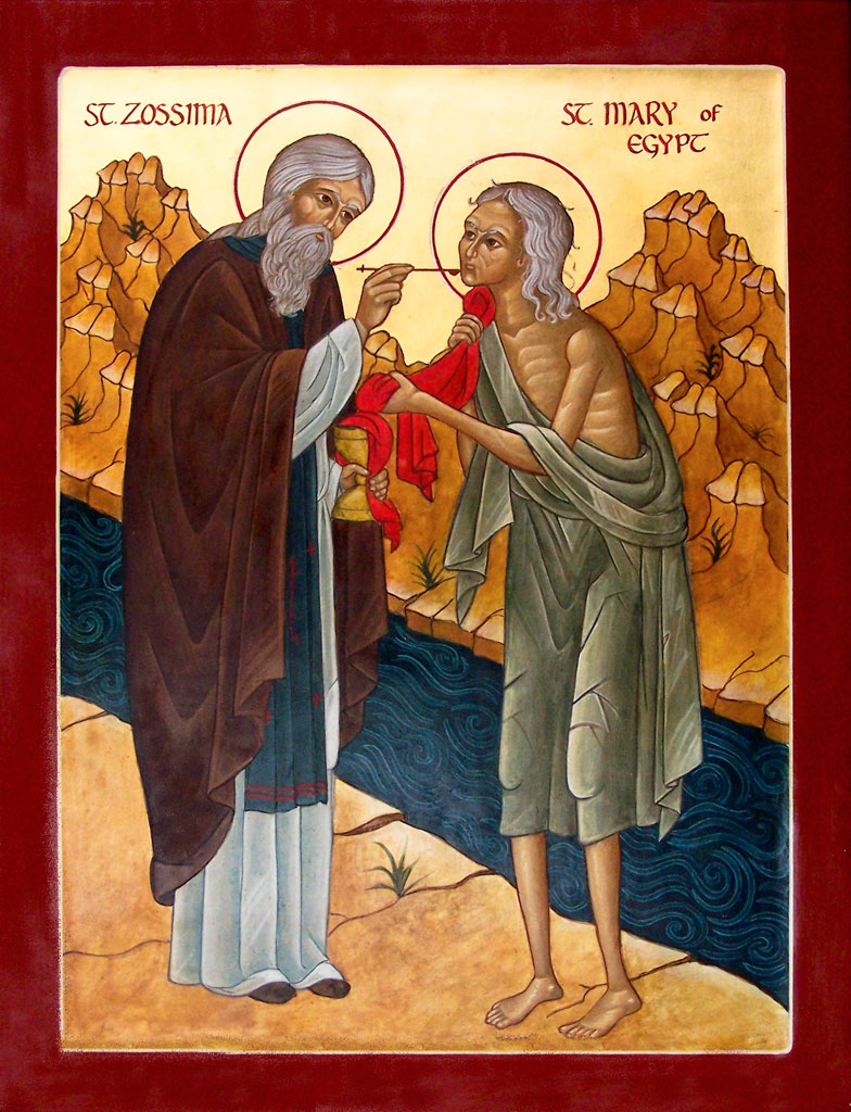 St. Zosima and St. Mary of Egypt