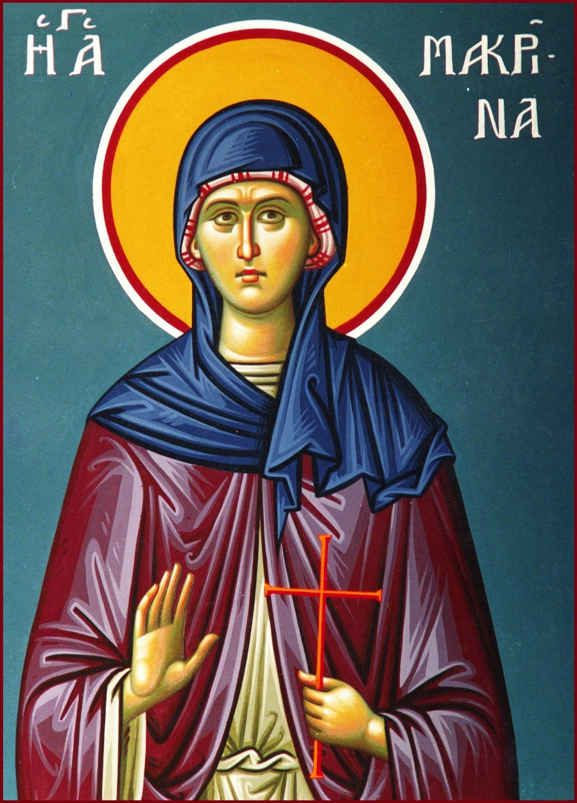 St. Makrina the Younger