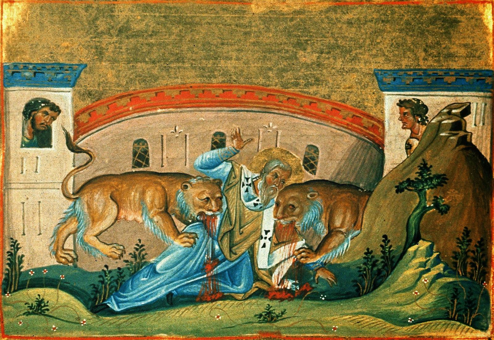 The Martyrdom of Ignatios the God-bearer