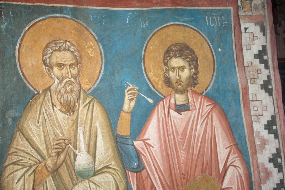 The Holy Unmercenaries Kyros and John