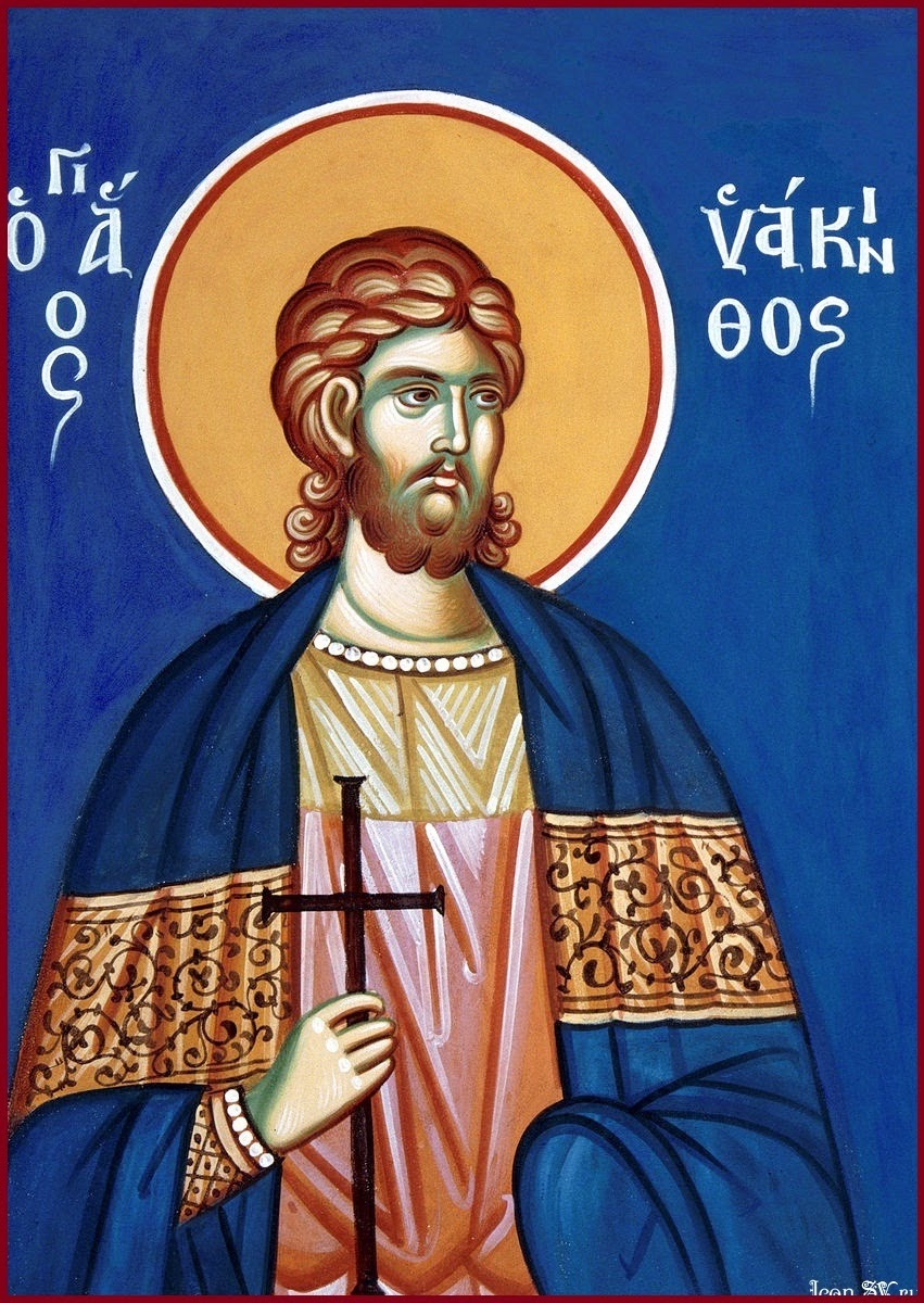 St. Iakinthos (Hyacinth) the Martyr