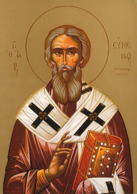 St. Evmenios, Bishop of Gortyna in Crete