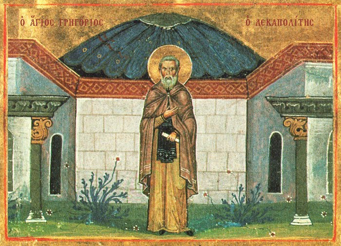 St. Gregory of Decapolis