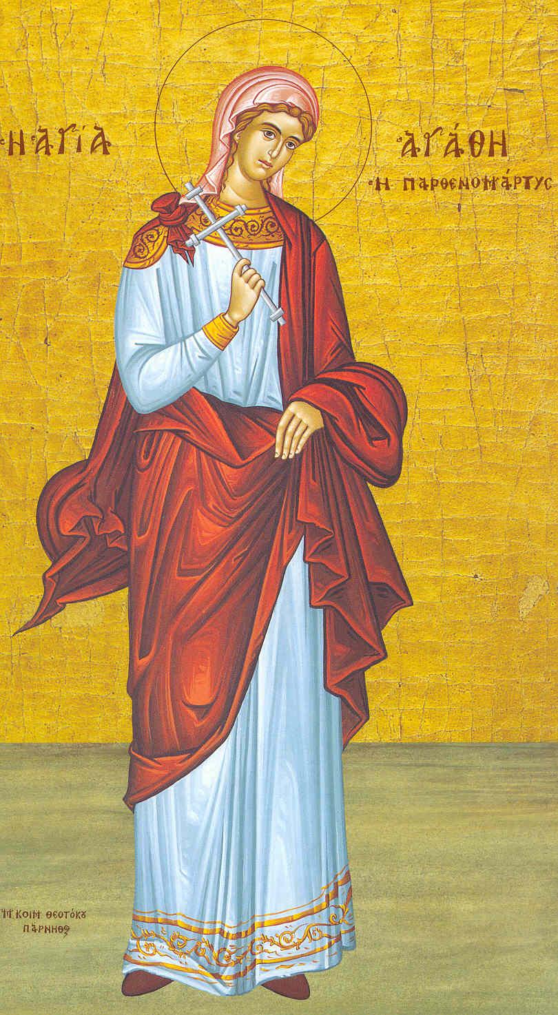 St. Agatha the Virginmartyr