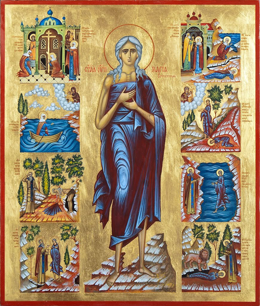 Mary the Venerable Ascetic of Egypt