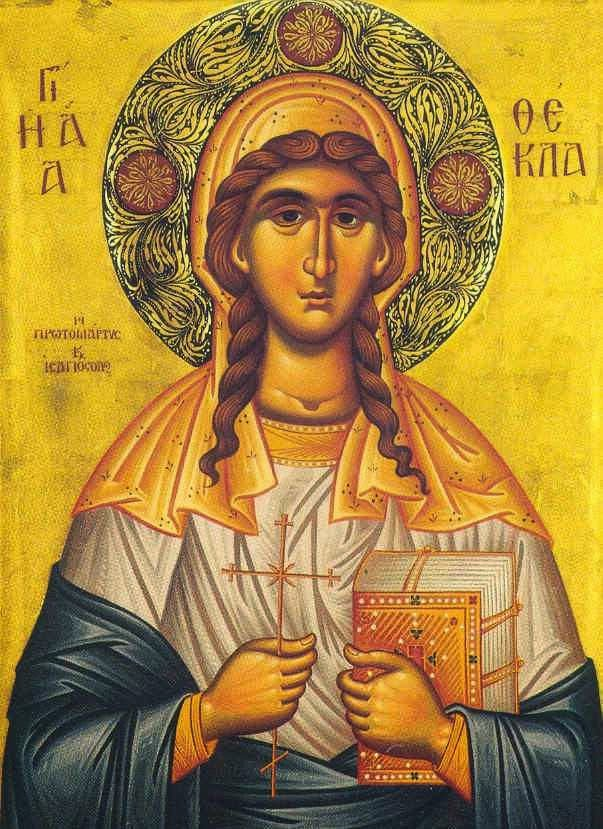 St. Thekla, Equal to the Apostles
