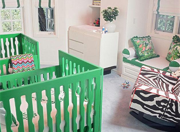 Twin Nursery: Nursery Works