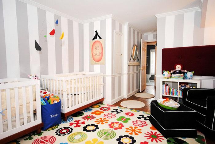 Twin Pop Art Nursery