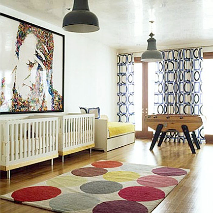 Twin Nursery by  Novogratz