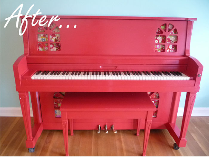 Cherry Piano from Jill Denton