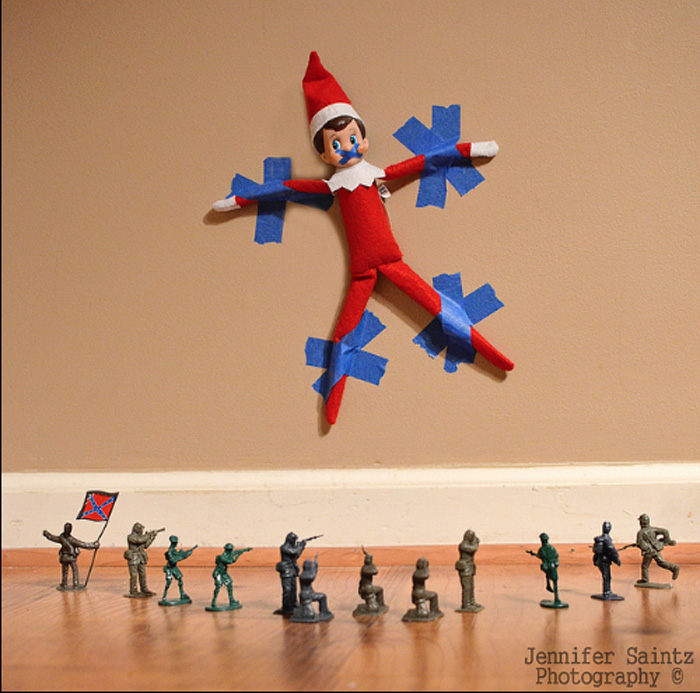 3. Elf Army: This could be a Problem. Photo by Jennifer Saintz Photography