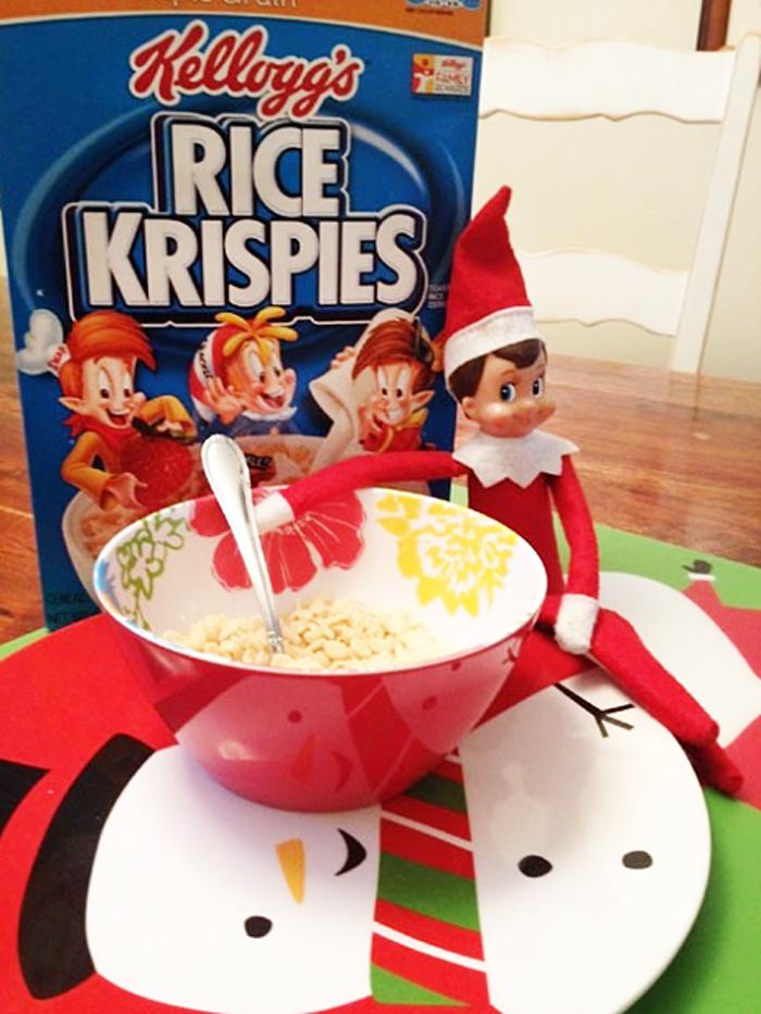 12. Snap crackle, pop, elf. From  ivillage