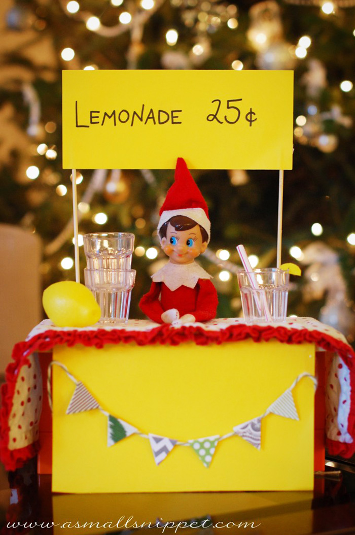 14. The Doctor is in. Lemonade Stand, from  A Small Snippet