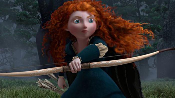"""Merida from """"Brave"""""""